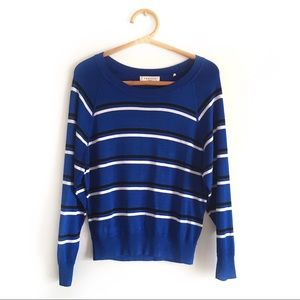 Sandro Sigrid Striped Knit Sweater